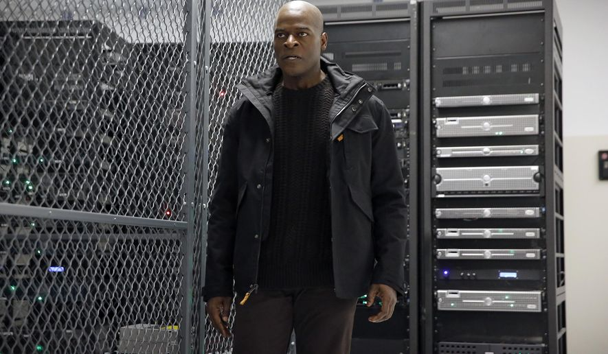 "In this image released by NBC, Hisham Tawfiq portrays Dembe Zuma in a scene from ""The Blacklist,"" airing Thursday at 9 p.m. ET. (Will Hart/NBC via AP)"