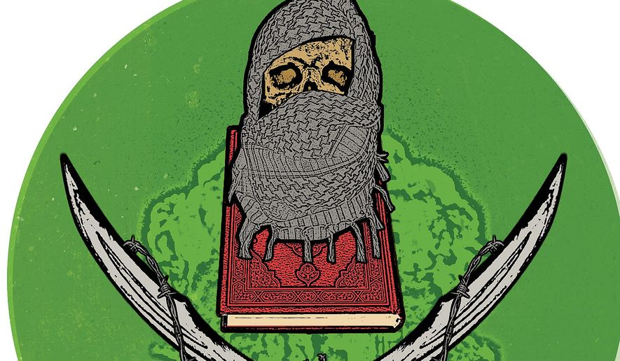 Illustration on the true intent of the Muslim Brotherhood by Linas Garsys/The Washington Times