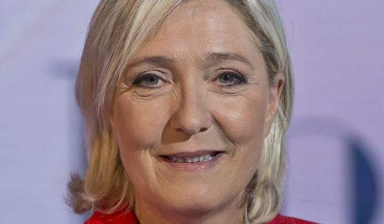 Marine Le Pen (Associated Press)