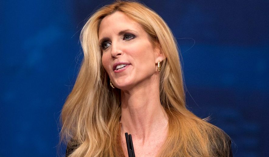 Conservative author Ann Coulter (Associated Press) ** FILE **
