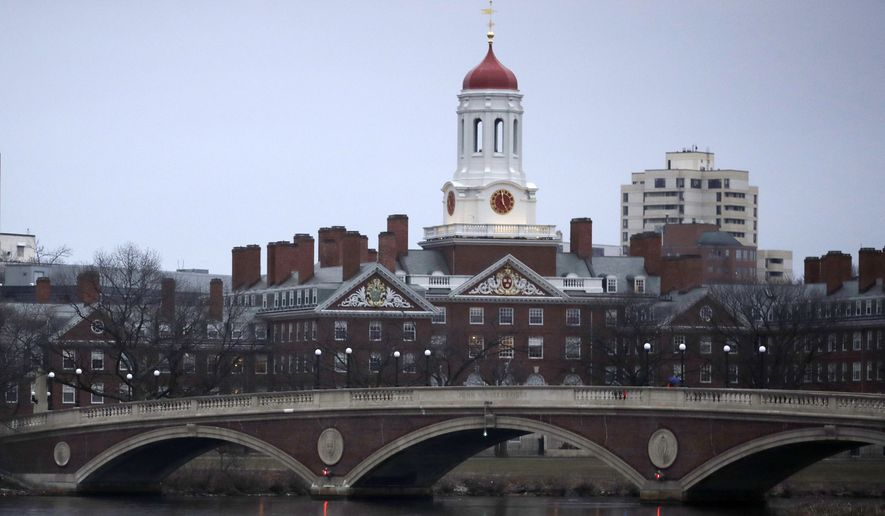 The vast majority of projects examined by the group were funded by the National Institutes of Health, but the National Science Foundation and Defense and Veterans Affairs departments were also listed as the source of some of the money, which came to nearly $250 million in 2016 among the Ivy League. Harvard accounted for some $177 million of that. (Associated Press file photo)