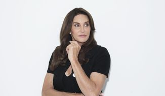 "Caitlyn Jenner poses for a portrait on Monday, April 24, 2017, in New York to promote her memoir, ""The Secrets of My Life."" (Photo by Taylor Jewell/Invision/AP)"