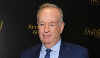 "Bill O'Reilly in attendance at The Hollywood Reporter's ""35 Most Powerful People in Media"" celebration in New York, April 6, 2016. (Photo by Andy Kropa/Invision/AP) ** FILE **"