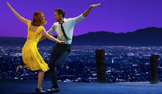 "Emma Stone and Ryan Gosling star in ""La La Land,"" now available on 4K Ultra HD from Lionsgate Home Entertainment."