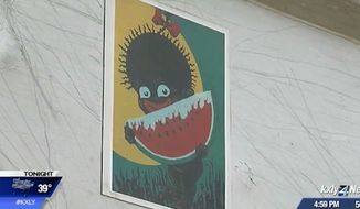 The owner of Dixie Services, an Idaho-based contracting company, is defending its logo of a cartoon black girl eating watermelon amid criticism that it's racist. (KXLY)