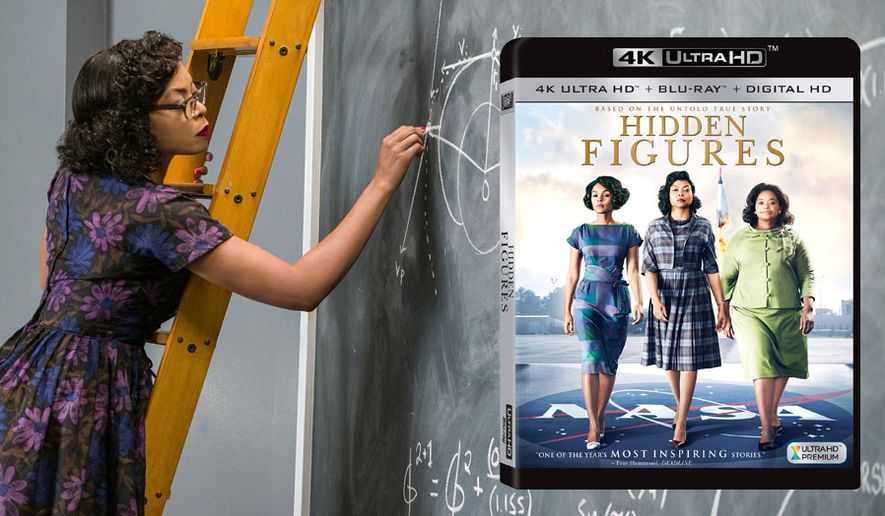 """Taraji P. Henson co-stars as mathematician Katherine Goble Johnson in """"Hidden Figures,"""" now available on 4K Ultra HD from 20th Century Fox Home Entertainment."""