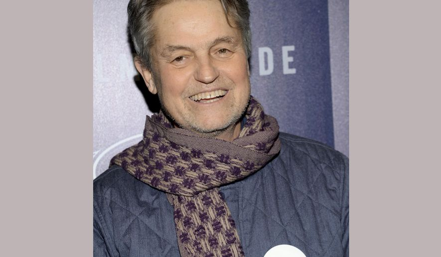 "FILE - In this Jan. 20, 2015 file photo, Jonathan Demme attends the premiere of ""Song One"" in New York. Demme died, Wednesday, April 26, 2017, of complications from esophageal cancer in New York. He was 73.  (Photo by Evan Agostini/Invision/AP, File)"