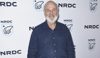 "Rob Reiner arrives at the ""STAND UP! for the Planet"" benefit at the Wallis Annenberg Center for the Performing Arts on Tuesday, April 25, 2017, in Beverly Hills, Calif. (Photo by Richard Shotwell/Invision/AP)"