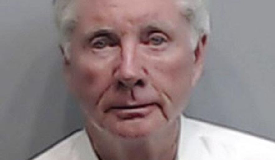 "FILE - This Wednesday, Dec. 21, 2016 file photo provided by the Fulton County Sheriff's Office shows Claud ""Tex"" McIver, a prominent Atlanta attorney. McIver has been indicted on charges including murder in the Sept. 2016 fatal shooting of his wife Dianne McIver. Fulton County District Attorney Paul Howard said Thursday, April 27, 2017 that McIver faces charges including malice murder and influencing witnesses.  (Fulton County Sheriff's Office via AP)"