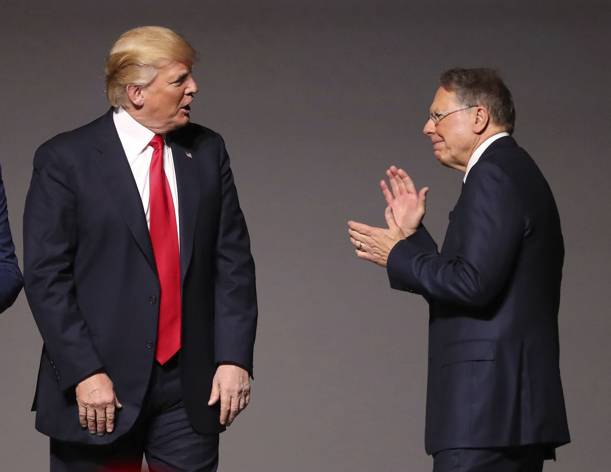 NRA members say Trump needs more support from Republicans in Congress