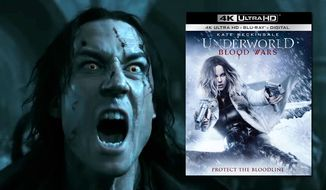 "Lycan leader Marius attacks in ""Underworld: Blood Wars,"" now available on 4K Ultra HD from Sony Pictures Home Entertainment."