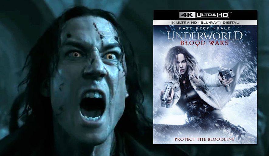 """Lycan leader Marius attacks in """"Underworld: Blood Wars,"""" now available on 4K Ultra HD from Sony Pictures Home Entertainment."""