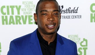 "FILE - In this April 25, 2017 file photo, Ja Rule attends City Harvest's 23rd Annual Gala, ""An Evening of Practical Magic"" in New York.  Organizers of the Fyre Festival in the Bahamas, produced by a partnership that includes rapper Ja Rule, have canceled the weekend event at the last minute Friday after many people had already arrived and spent thousands of dollars on tickets and travel.  (Photo by Christopher Smith/Invision/AP, File)"