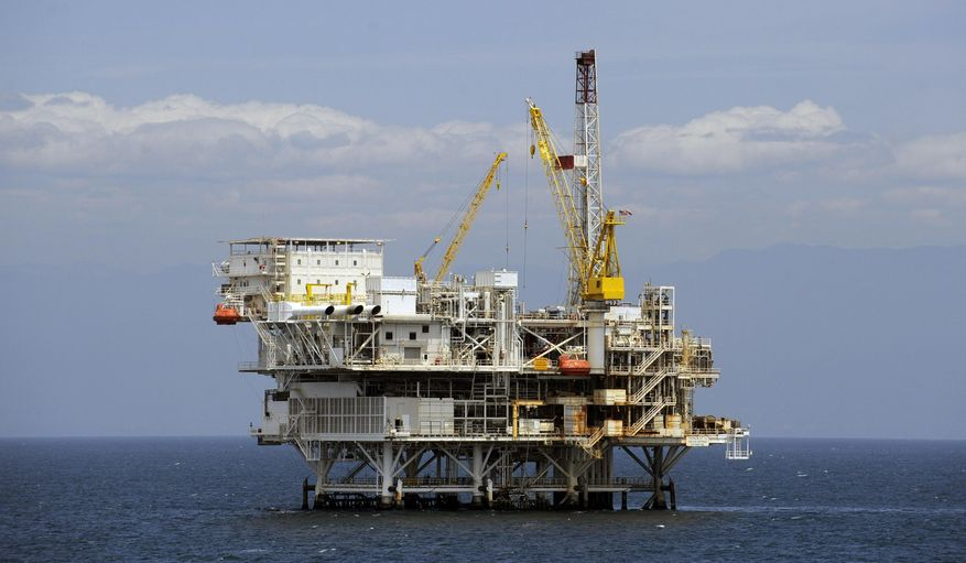 States would have more control over offshore drilling under the Enhancing State Management of Federal Lands and Waters Act. (Associated Press/File)