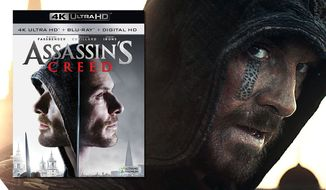 "Michael Fassbender as Aguilar de Nerha in ""Assassin's Creed,"" now available on 4K Ultra HD from 20th Century Fox Home Entertainment."