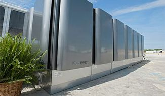 Technological advances, like the fuel cell technology used in the Bloom Energy Server* or Bloom Box, combine with traditional sources of energy to provide a wide spectrum of clean, reliable and affordable electrical solutions for customers. Source: University of Delaware, WGL Energy.