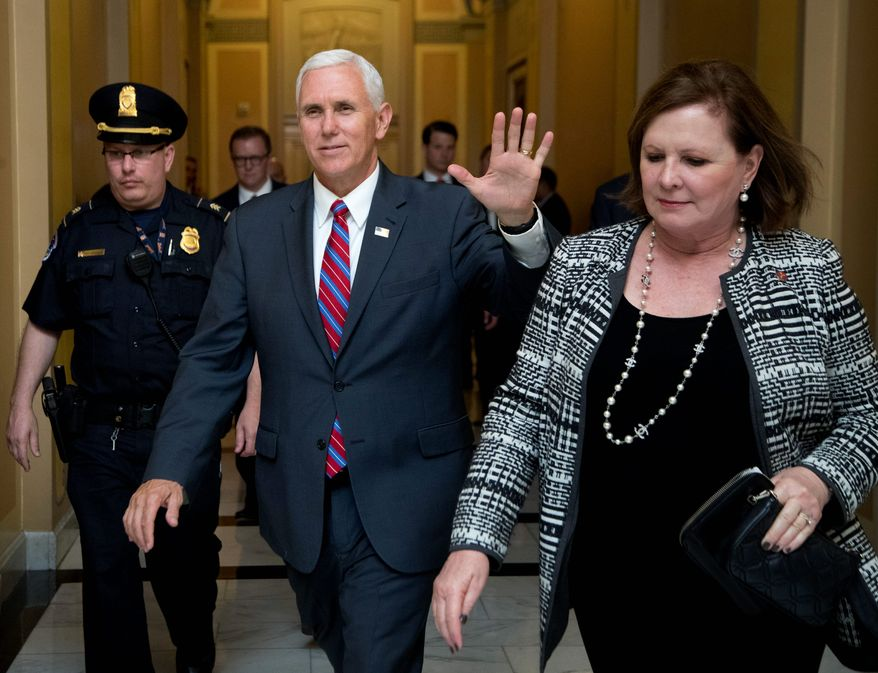 Vice President Mike Pence said the bipartisan budget deal announced Sunday is a good sign for the Trump administration's entire agenda, including the president's effort to repeal Obamacare.