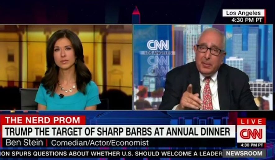 """Conservative political commentator and Emmy Award-winning actor Ben Stein argued Sunday that President Trump has been able to """"cleverly"""" manipulate the mainstream media into becoming his biggest ally. (CNN)"""