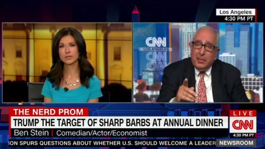 "Conservative political commentator and Emmy Award-winning actor Ben Stein argued Sunday that President Trump has been able to ""cleverly"" manipulate the mainstream media into becoming his biggest ally. (CNN)"