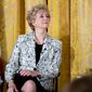 Small Business Administration Administrator Linda McMahon appears at a women's empowerment panel in the East Room of the White House, Wednesday, March 29, 2017, in Washington. (AP Photo/Andrew Harnik) ** FILE **