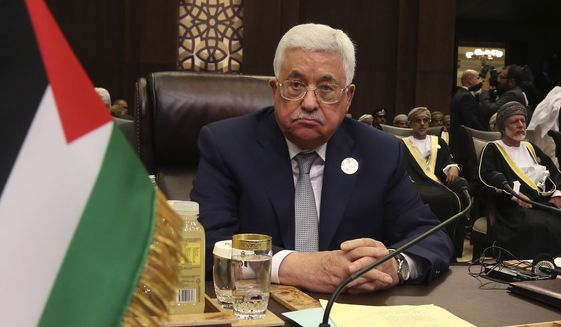 Mahmoud Abbas comes into the meeting with President Trump very unpopular among Palestinians, who view their leadership as corrupt and are as pessimistic as the Israelis about the prospects for a peace deal. (Associated Press/File)