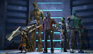Marvel's Guardians of the Galaxy: The Telltale Series features a great story and impressive character models.