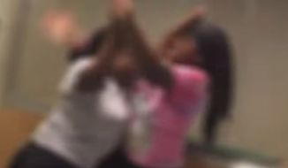 An out-of-control brawl between four girls at Cheltenham High School, just north of Philadelphia, reportedly left seven teachers and three safety officers injured, sending one teacher to the hospital. (ABC 6)