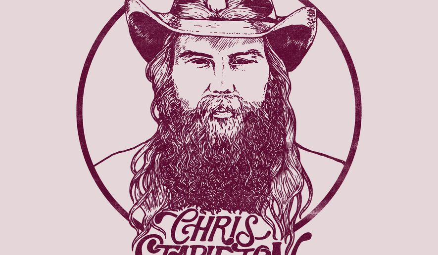 """This undated cover image released by Mercury Records shows Chris Stapleton's latest album """"From A Room: Volume 1."""" (Mercury Records via AP)"""