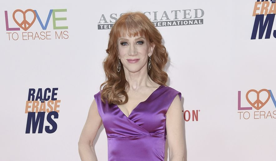 Kathy Griffin attends the 24th Annual Race to Erase MS Gala at the Beverly Hilton on Friday, May 5, 2017, in Beverly Hills, Calif. (Photo by Richard Shotwell/Invision/AP)