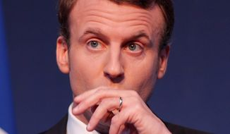 Emmanuel Macron (Associated Press)