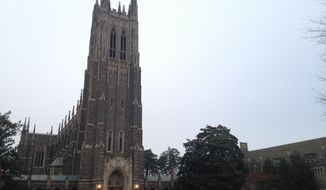 """Being against diversity isn't an issue of academic freedom. It is academic malpractice. If you can't abide by Duke's policies, you shouldn't work for Duke,"" Valerie Cooper, an associate professor at Duke Divinity School, said on Facebook earlier this month. (Associated Press)"