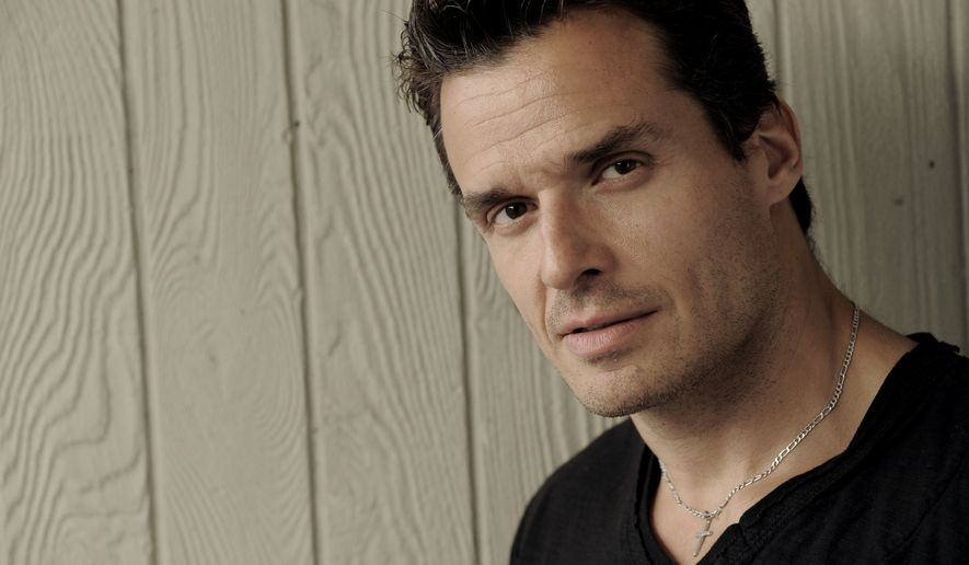 "In this May 10, 2013, file photo, actor Antonio Sabato Jr. poses for a portrait in Los Angeles. Sabato is running for Congress. The familiar face from soap operas ""General Hospital"" and ""Melrose Place"" and friend of President Donald Trump filed paperwork with federal regulators to begin raising money for the contest in the 26th Congressional District, which encompasses most of Ventura County northwest of Los Angeles. (Photo by Chris Pizzello/Invision/AP, File) **FILE**"