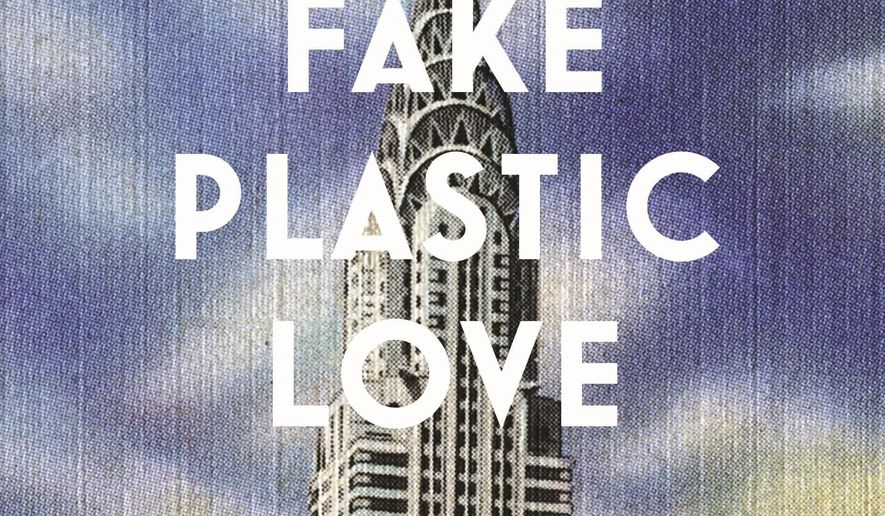 "This cover image released by Flatiron Books shows ""Fake Plastic Love,"" by Kimberley Tait. (Flatiron Books via AP)"