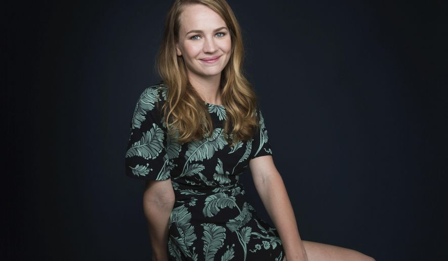 "In this April 28, 2017 photo, actress Britt Robertson poses for a portrait in New York to promote her Netflix series, ""Girlboss."" (Photo by Taylor Jewell/Invision/AP)"
