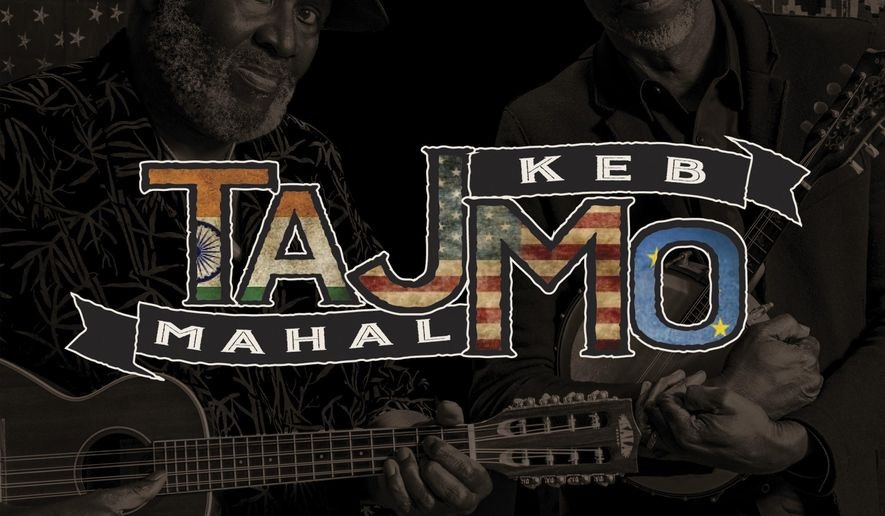 "This cover image released by Concord shows ""TajMo,"" a release by Taj Mahal and Keb Mo. (Concord via AP)"