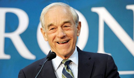 Former presidential hopeful and 12-term congressman Ron Paul has a few thoughts for President Trump. (AP Photo)