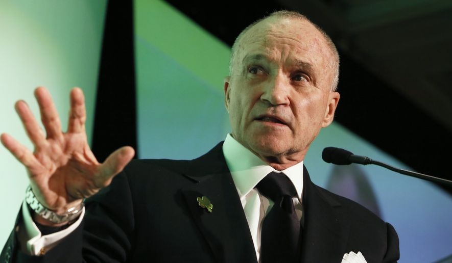 Ray Kelly's tough-on-crime stance, including support for provocative tactics like stop-and-frisk, could make him a natural ally of Attorney General Jeff Sessions and a go-to-guy for a fellow New Yorker like Trump.  (AP file photo)
