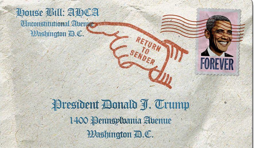 Return to Sender Illustration by Greg Groesch/The Washington Times