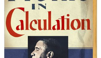 """Illustration on Barack Obama's receipt of the """"Profiles in Courage' award by Alexander Hunter/The Washington Times"""