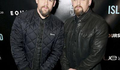 Joel and Benji Madden of the pop Good Charlotte. Joel married Nicole Richie in 2010.
