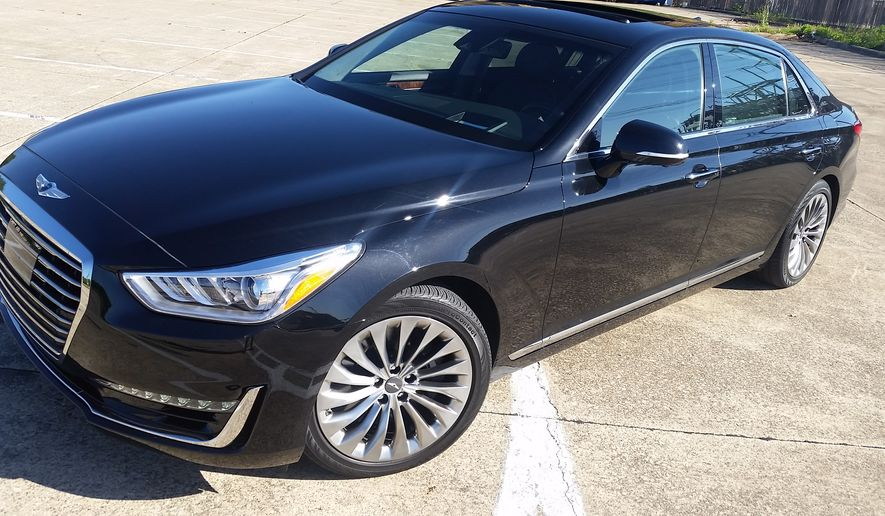 If you are tired of all the business as usual luxury brands then you might want to look into the 2017 Genesis G90. It fits the bill in the sedan world and is a brand all its own now. The 2017 Genesis G90 is all-new model since it recently branched off from Hyundai. And, while luxurious, the price tag is a bit friendlier than the competition. (Photo by Rita Cook)