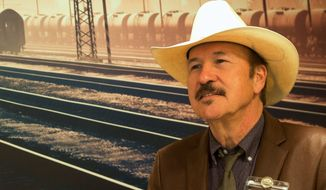 Rob Quist is the Democrats' hope to win their first U.S. House seat in Montana in two decades. A poll shows the cowboy poet 8 percentage points behind Republican candidate Greg Gianforte in the deep-red state. (Associated Press)