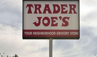 A Trader Joe's in Los Angeles is seen here on Feb. 11, 2008. (Associated Press) **FILE**