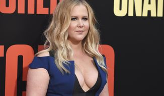 "Amy Schumer arrives at the Los Angeles premiere of ""Snatched"" at the Regency Village Theatre on Wednesday, May 10, 2017. (Photo by Jordan Strauss/Invision/AP)"