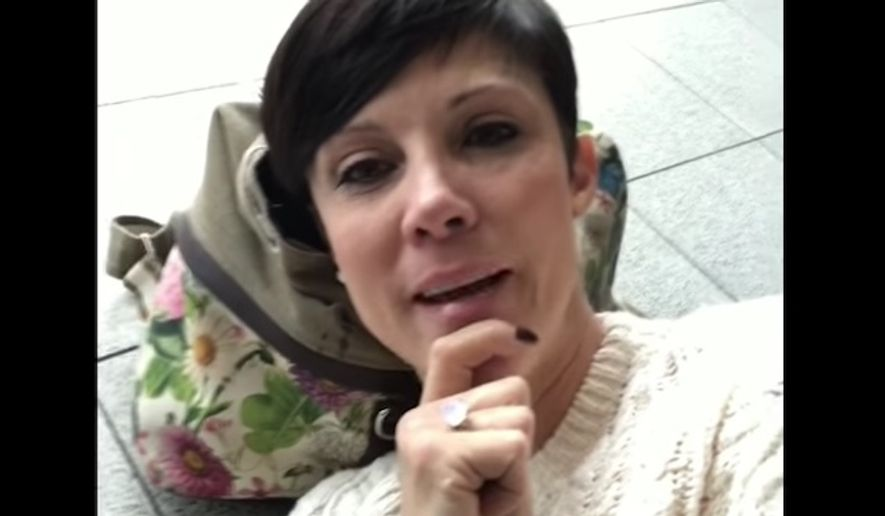 Virgin Atlantic has vowed to remind staff about its policy regarding service animals after a disabled California woman says she was denied entry to the airline's waiting lounge because of her dog. (YouTube/@Micaela Bensko)