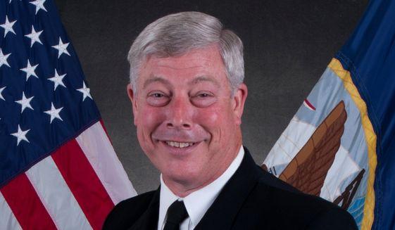 Retired Rear Adm. Patrick Lorge (U.S. Navy)