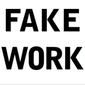 "Book jacket ""Fake Work: Why people are working harder than ever but accomplishing less, and how to fix the problem,"" by authors B.D. Peterson and G.W. Nielson"