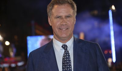 """FILE - In this Feb. 4, 2016 file photo, actor Will Ferrell poses for photographers upon arrival at the premiere of the film """"Zoolander No.2""""in London. One of the University of Southern California's most distinguished alums - funnyman Ferrell - is returning to his alma mater to give the keynote address at this year's 134th commencement, Friday, May 12, 2017. (Photo by Joel Ryan/Invision/AP, File)"""