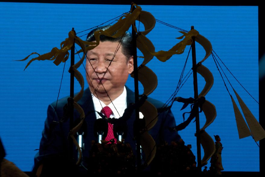 Chinese President Xi Jinping envisions a world order in which all roads lead to Beijing, but U.S. officials have faulted China for offering up easy access and questionable financial loans to several African countries in exchange for access to their resources. (Associated Press/File)