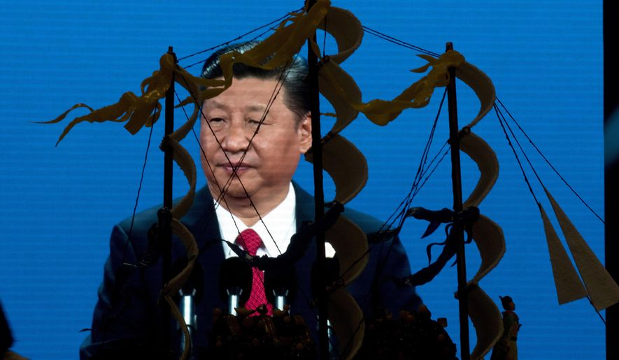 Chinese President Xi Jinping envisions a future world order in which all roads lead to Beijing. (Associated Press/File)